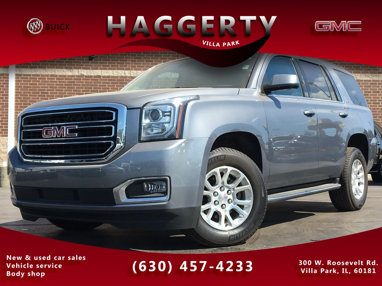 Certified Pre-Owned 2018 GMC Yukon SLT Navigation Sunroof