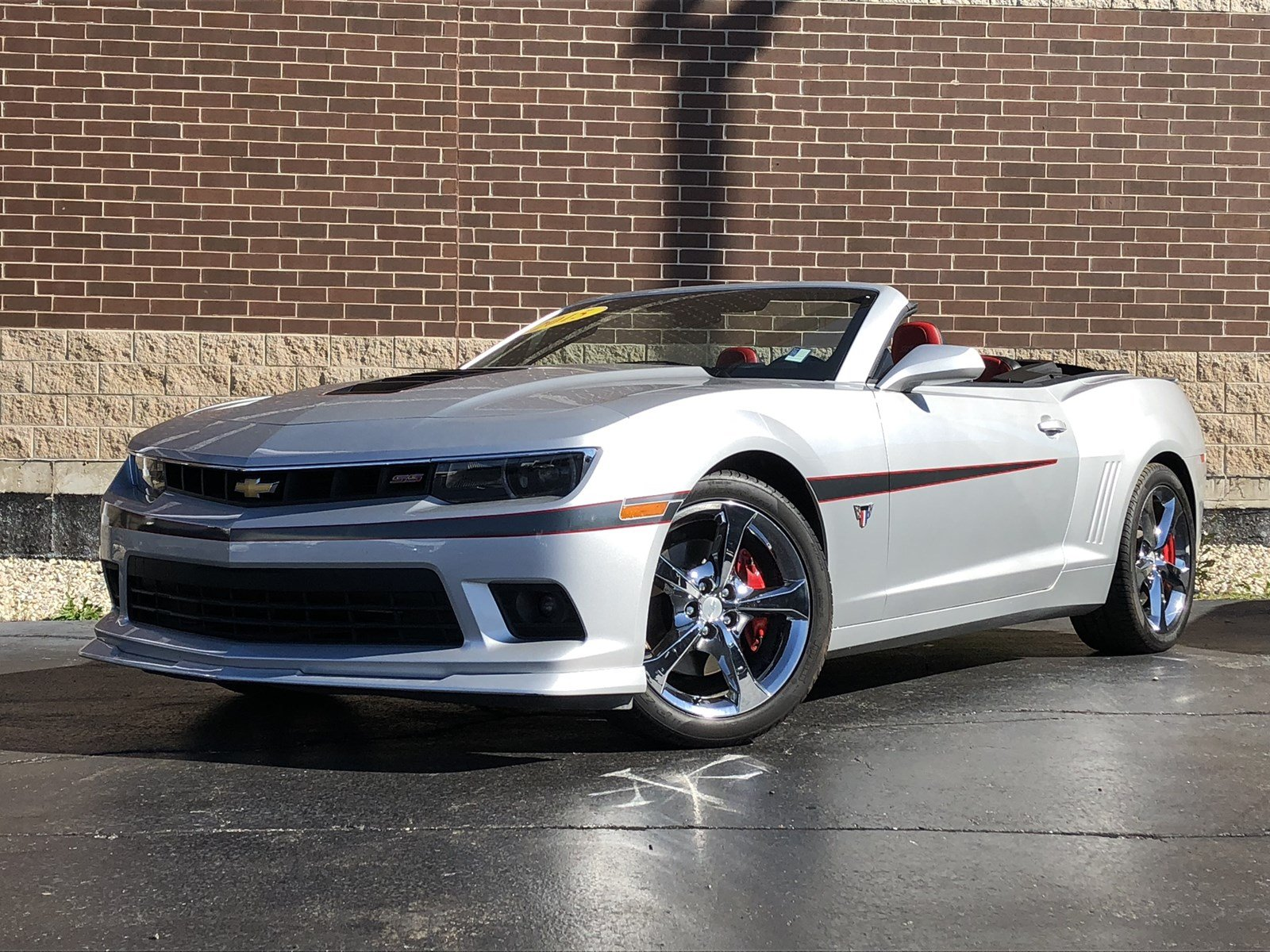 Certified Pre-Owned 2015 Chevrolet Camaro SS Convertible COMMEMORATIVE EDITION