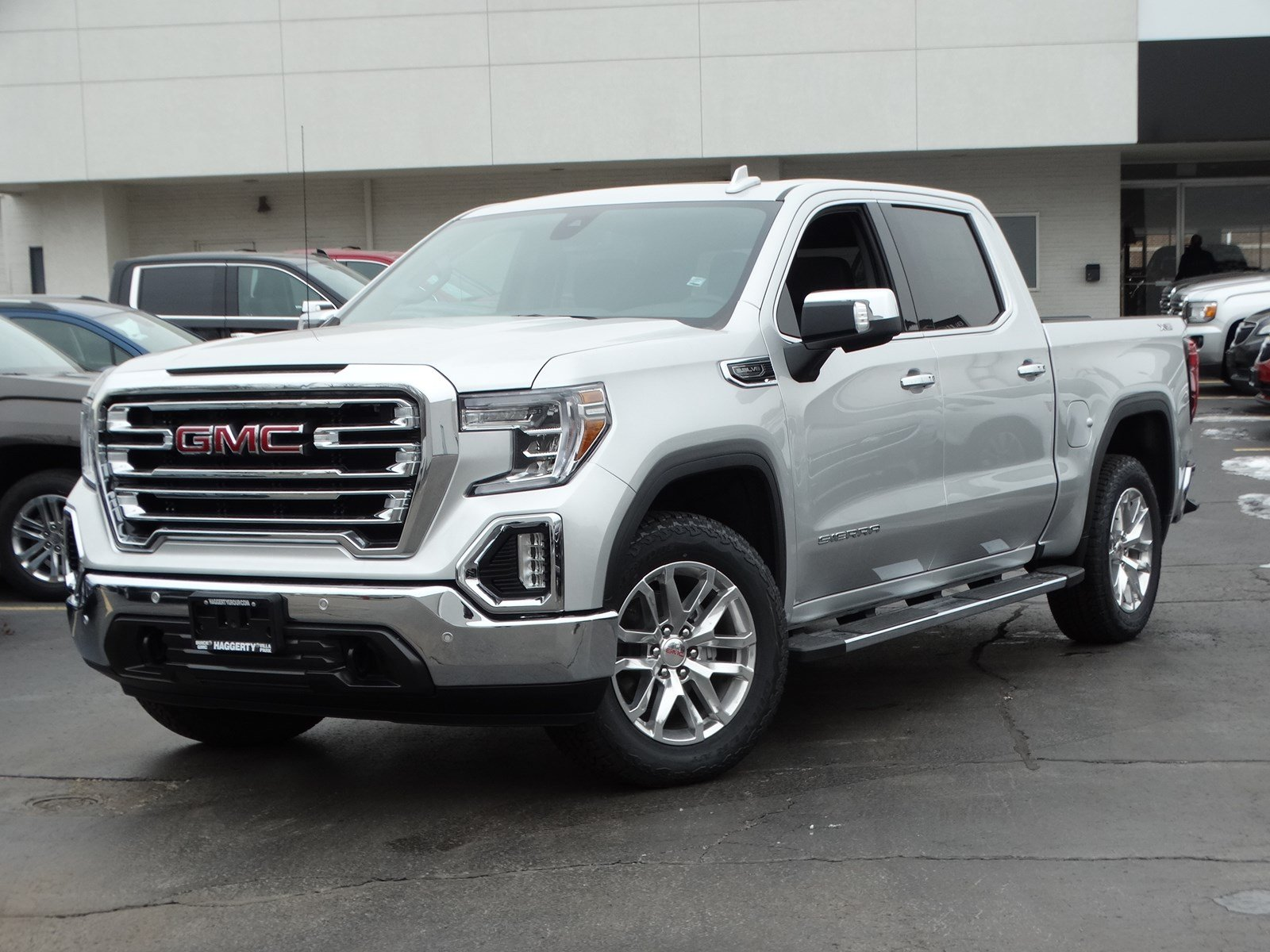 New 2019 GMC Sierra 1500 SLT Crew Cab Pickup in Villa Park ...