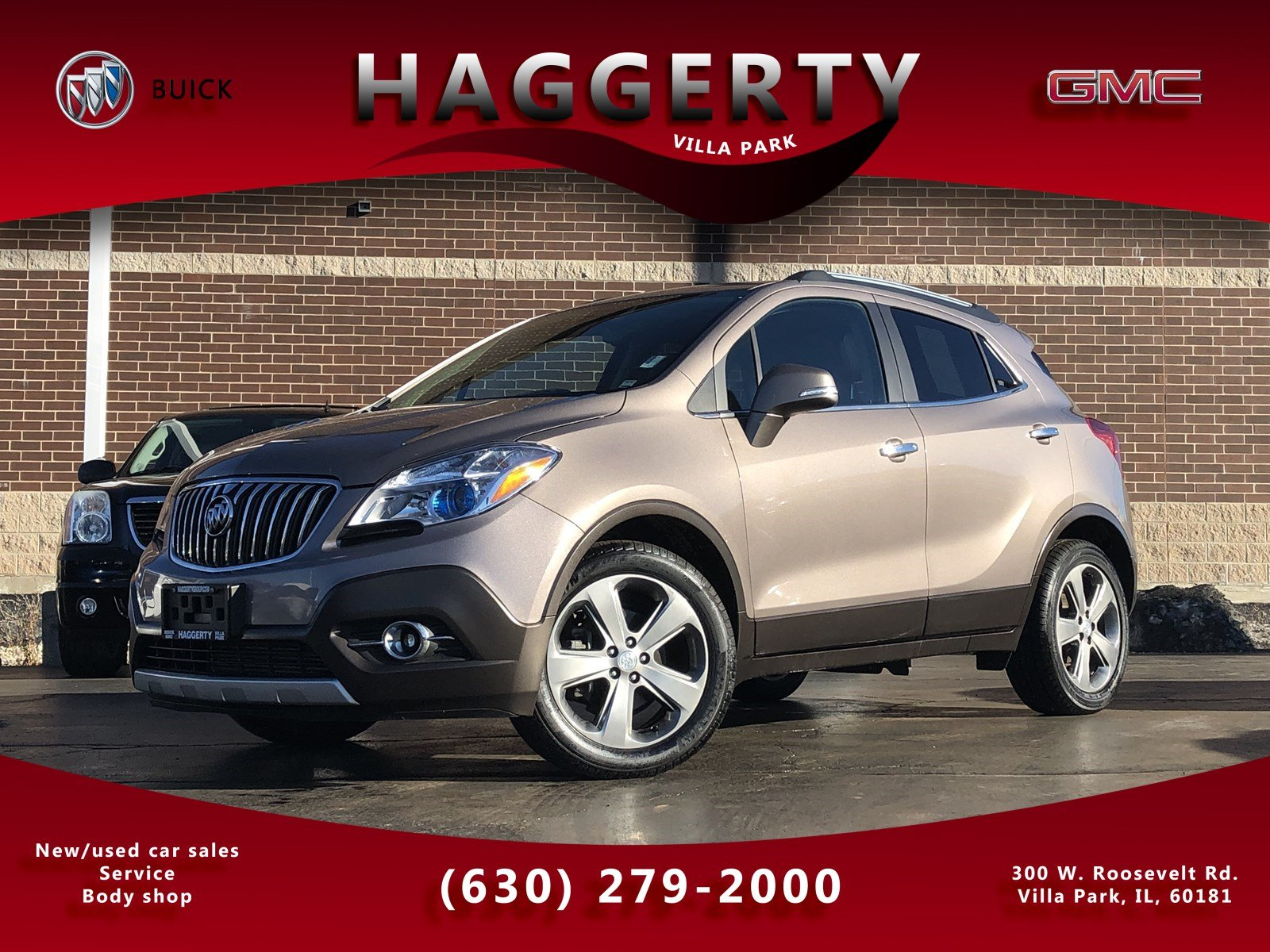 Pre-Owned 2014 Buick Encore Leather Navigation Sunroof