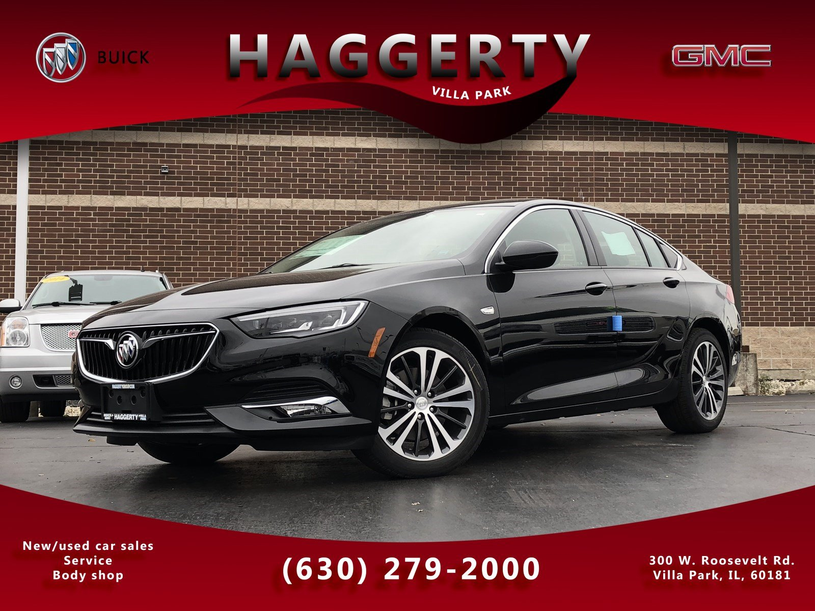 New 2019 Buick Regal Sportback Essence Hatchback In Villa Park