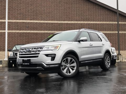 Pre-Owned 2018 Ford Explorer 4WD Limited