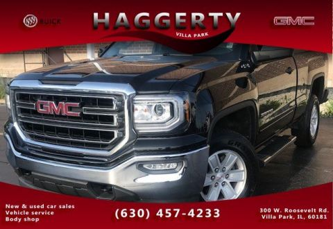 Certified Pre-Owned 2018 GMC Sierra 1500 4wd SLE